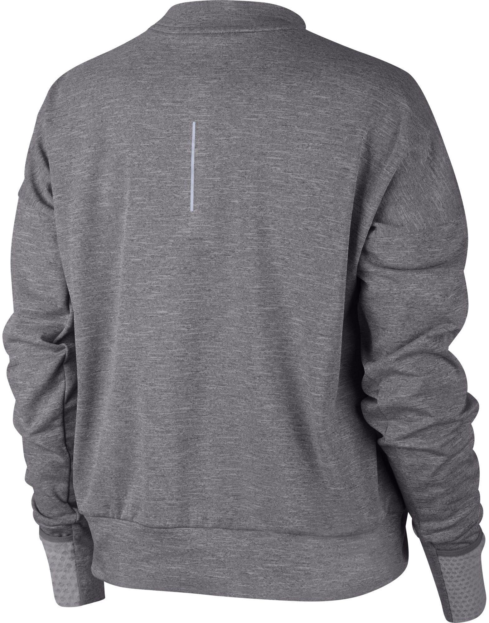 0b4df79b2ed Nike Therma Sphere Element Hardloopshirt lange mouwen Dames grijs I ...